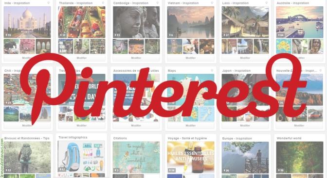 Inspiration de voyages sur Pinterest