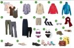 Liste de vêtements pour un long voyage