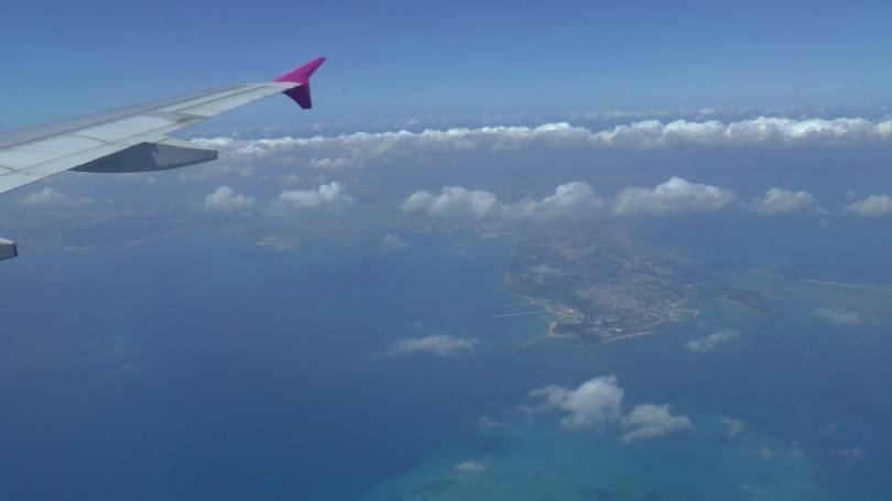 On s'envole pour les îles d'Okinawa
