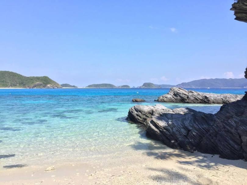 Magnifique plage de Furuzamami - île de Zamami - Okinawa