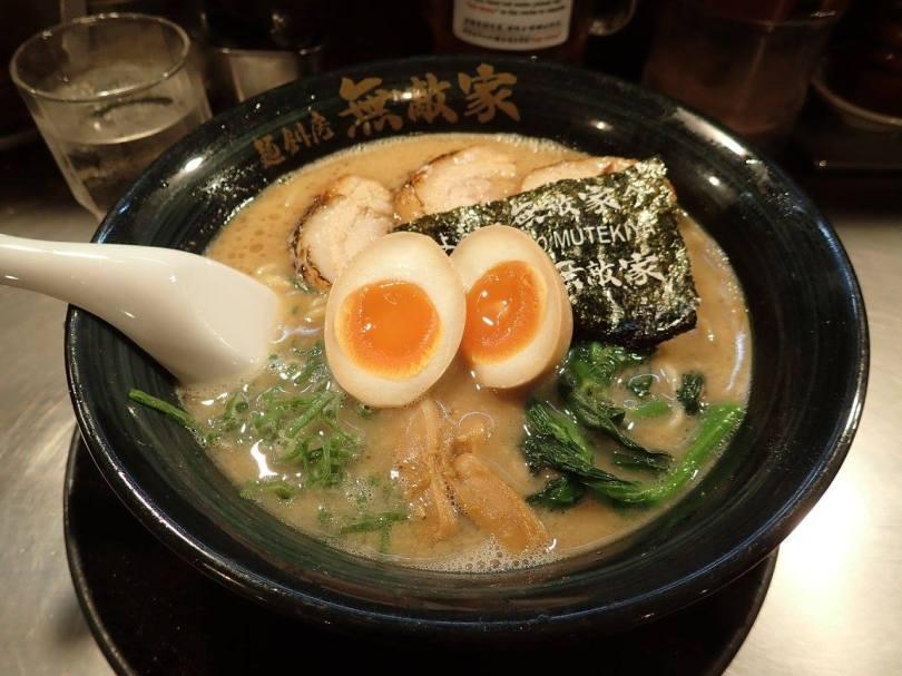 Les meilleurs ramens de Tokyo au restaurant Mutekiya