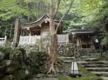 Temple Kibune-jinja, dans les montagnes au nord de Kyoto
