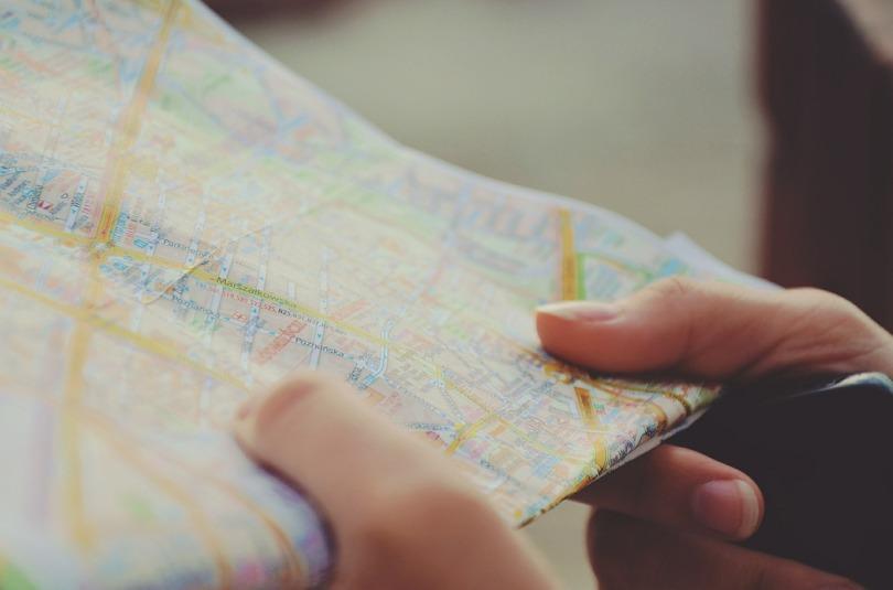 itinéraire de voyage