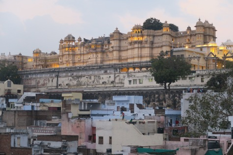 royal palace d'Udaipur