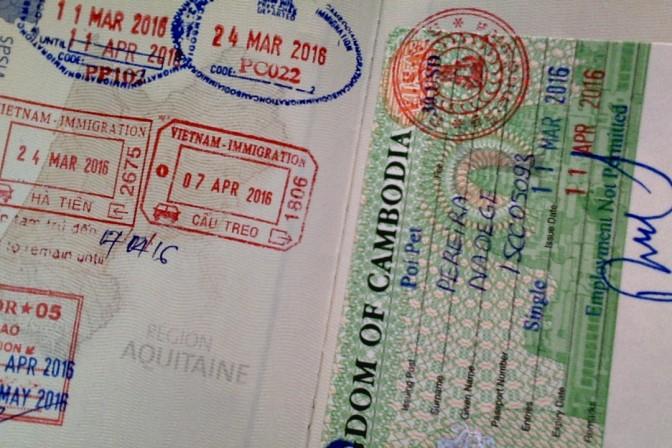Le passage de frontière Thaïlande – Cambodge, çà c'est fait !