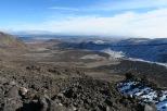Fini les jolies chemins, maintenant c'est la roche volcanique que nous avons sous les pieds
