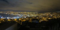 Valparaiso by night